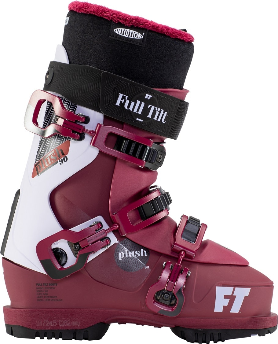 Chaussure de ski FT Plush 90 pour skieuse confort by TOTAL FEET