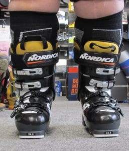 TOTAL FEET modification chaussure ski très bonne skieuse gros mollets