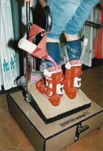 Custom made SIDAS foam liner 1987