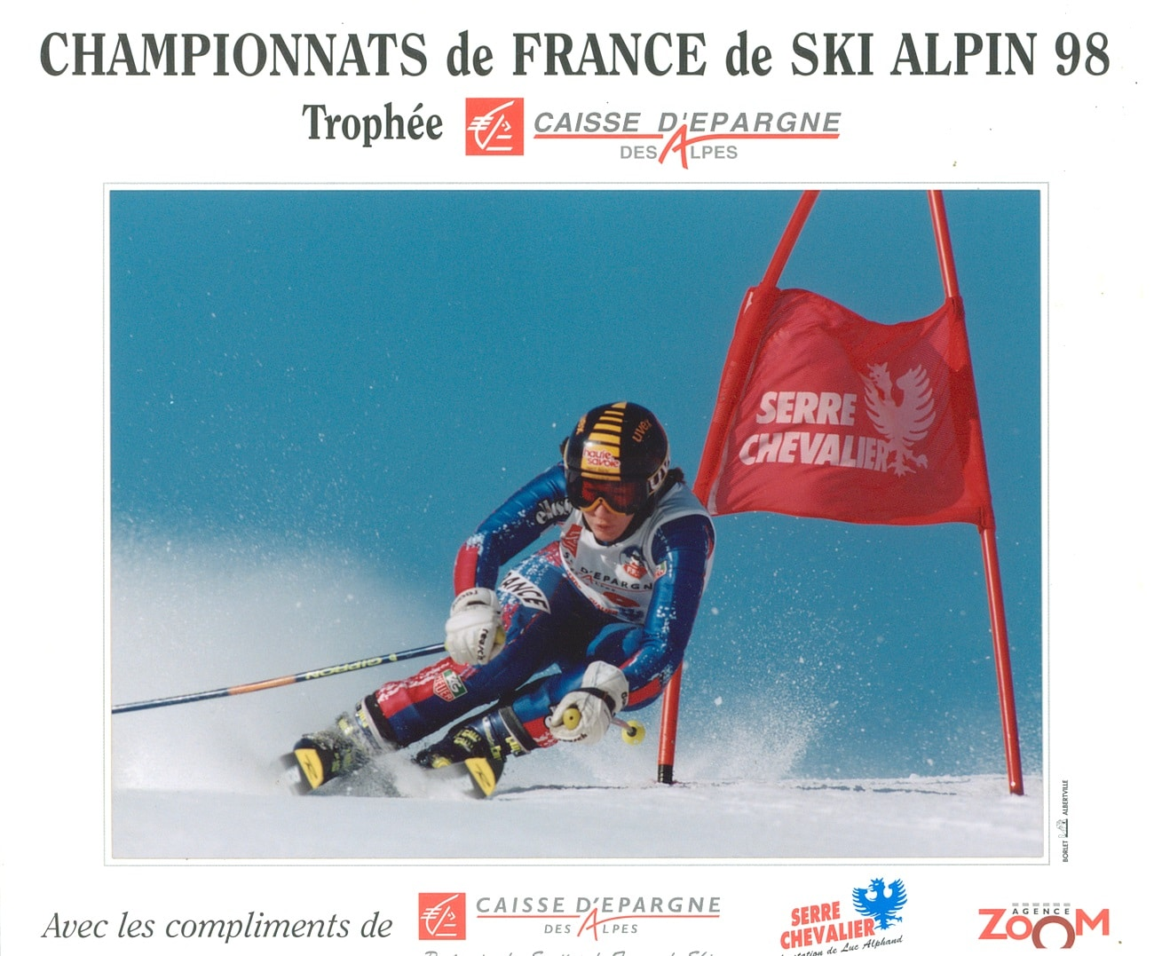 photo de Sandra MELOT championnat de France 1998 GS