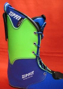 Zipfit Racing liner by TOTAL FEET lateral view